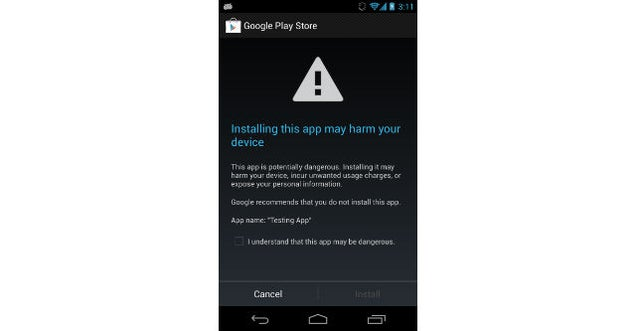 Android Now Offers Routine Malware Surveillance For Your Phone
