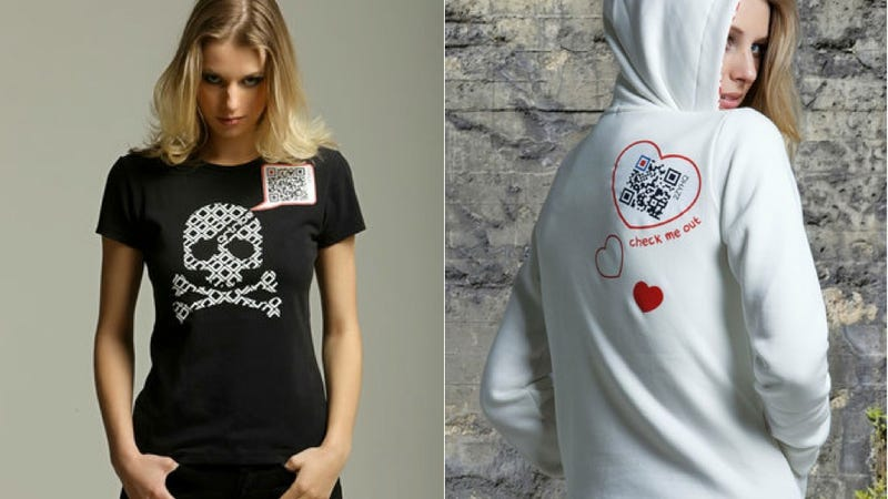 Those Who Wear a QR Code T-Shirt Deserve Nothing But Ridicule