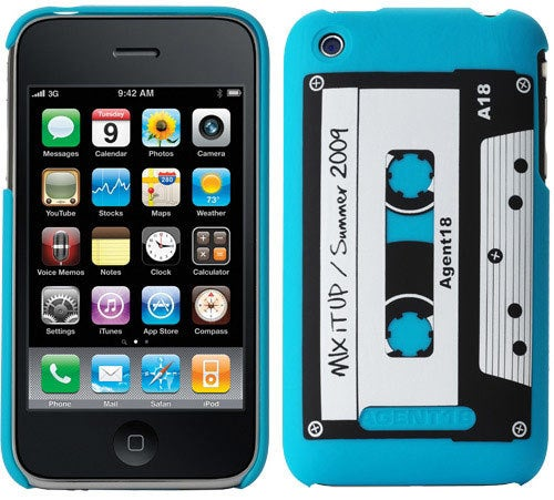 Wear Your Heart on Your iPhone Mixtape Sleeve