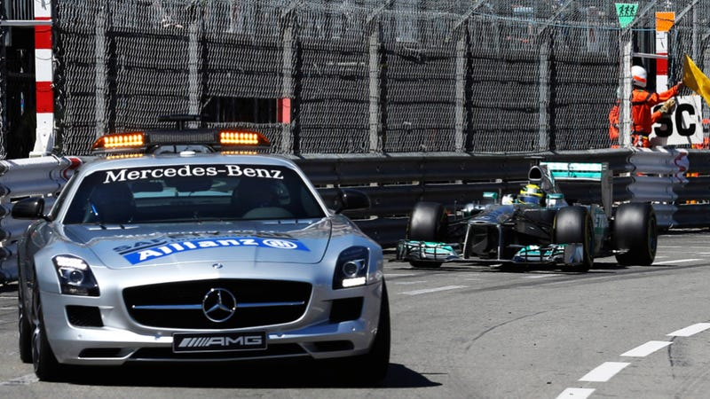 Smashes And Crashes Dominate The Monaco Grand Prix