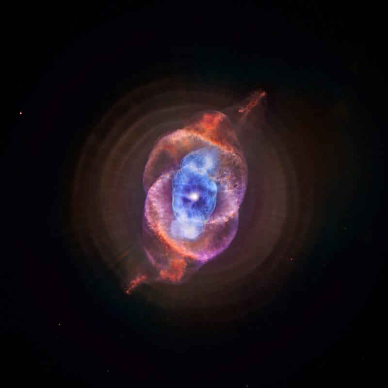 A Cat's Eye in the Stellar Dragon