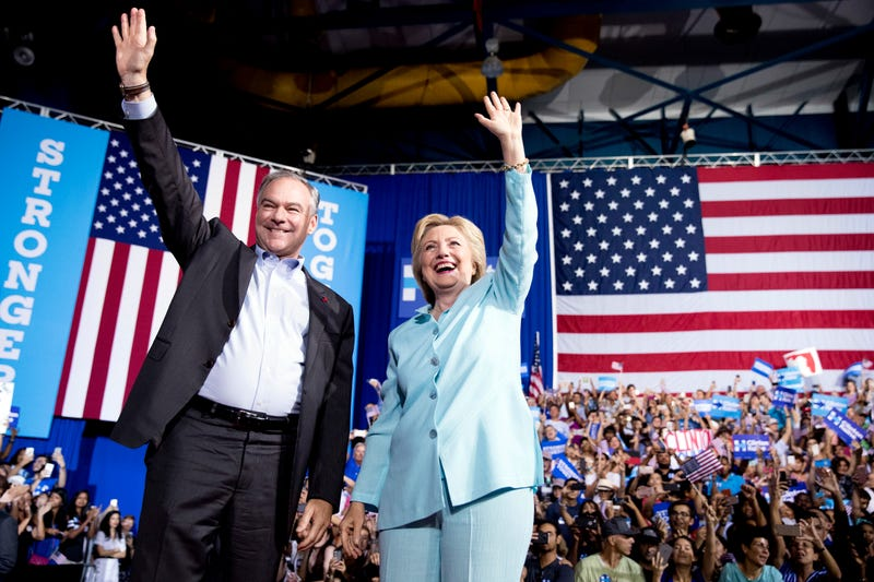 Clinton And Kaine Make Very Normal Debut as Running Mates
