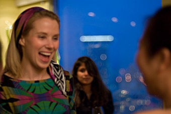Lesley Stahl Investigates Marissa Mayer's Matchless Fashion Sense