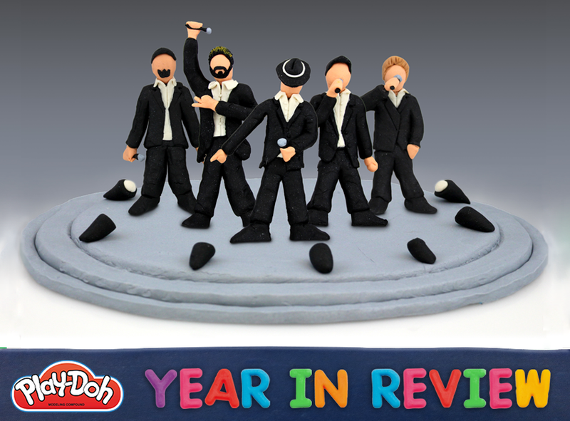 See 2013's Biggest Moments Recreated in Play-Doh
