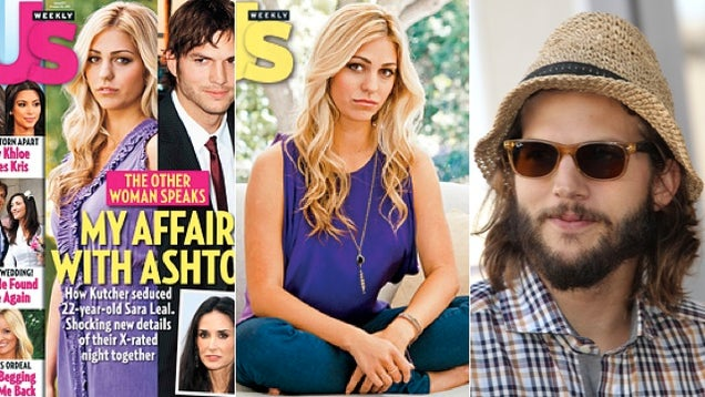 Lady Who Had Sex With Ashton Kutcher Says 'He Was Good' And 'It Wasn't Perverted'