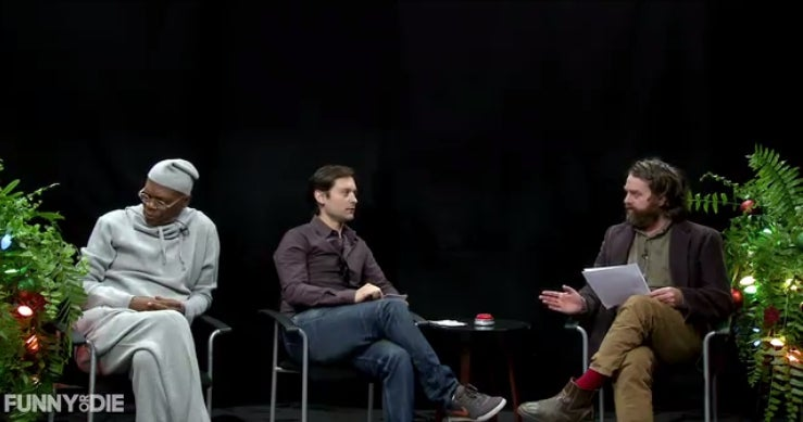 Between Two Ferns' 'Christmas Spectacular' Is Fucking Spectacular