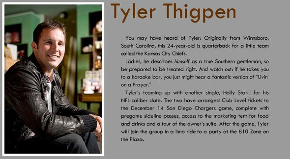 A Loaf Of Bread, A Bottle Of Wine, And Tyler Thigpen