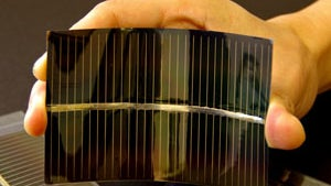 Scientists Create Inorganic Bendable, Transparent LED Displays WIth Less Flavor than Organic Ones