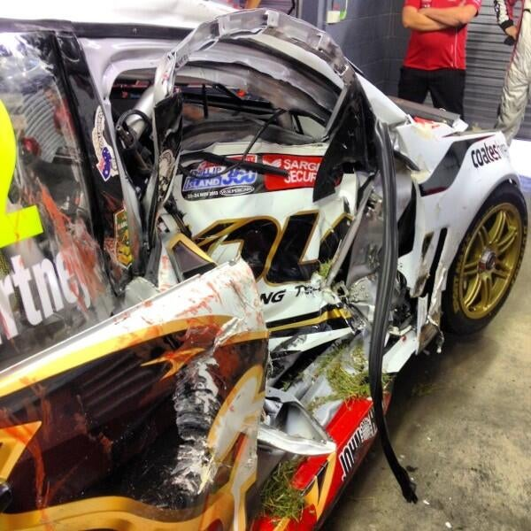 James Courtney Escapes Serious Injury in V8 Supercars Accident