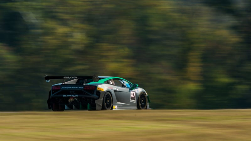 Lamborghini's Sinister Gallardo Super Trofeo Is Terrifyingly Amazing