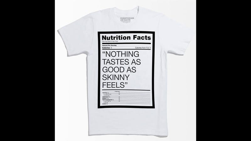 Hudson's Bay Pulls 'Nothing Tastes as Good as Skinny Feels' Tee