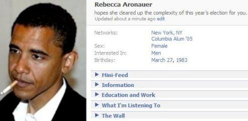 Obama Locks Up The Idiotic Facebook Vote