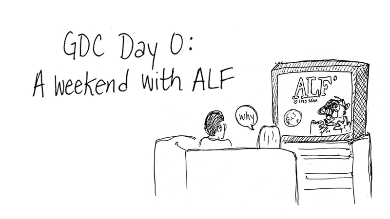 We're Sending a Cartoonist To Cover Game Developers Conference 2014