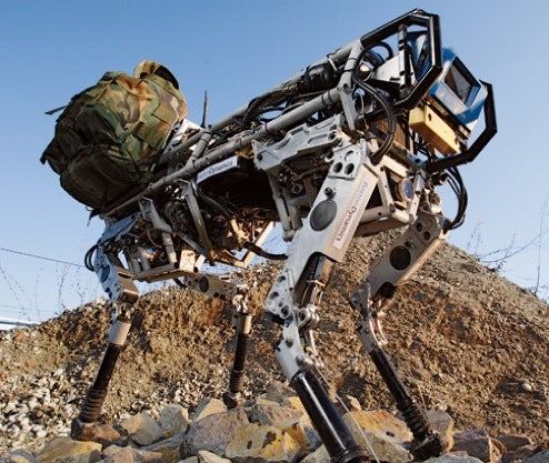 Darpa Wants Bigger, Smarter BigDog 'Bot To Help in Combat