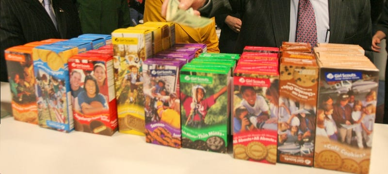 Girl Scouts Down to Their Last Six Cookies