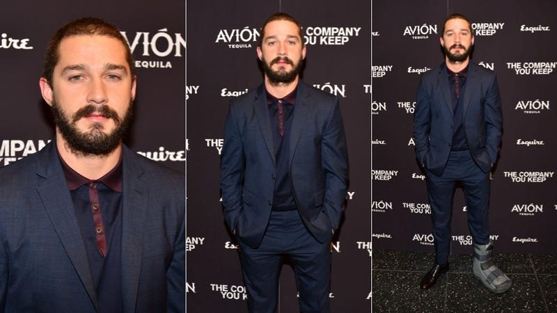 Shia LaBeouf Is Bearded and Broken