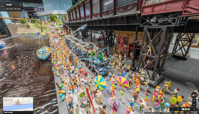 Google Used Tiny Cameras to Street View the World's Largest Model Railway