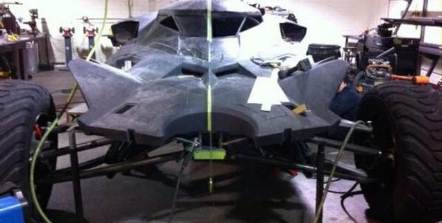 The New Batmobile Looks Like A Giant Rally Fighter