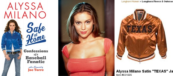 Getting To Home Plate With Alyssa Milano ... Discuss