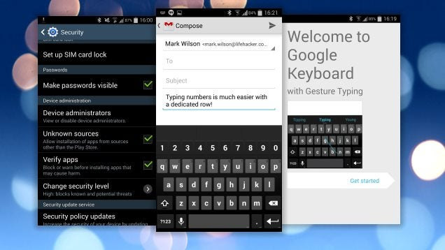 Modded Google Keyboard Adds a Number Row For Easier Numerical Entry