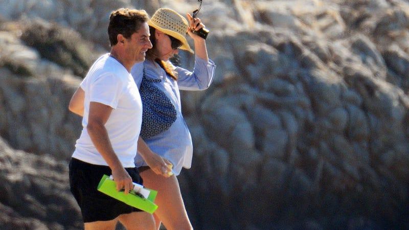 Carla Bruni: Oui, I'm Pregnant