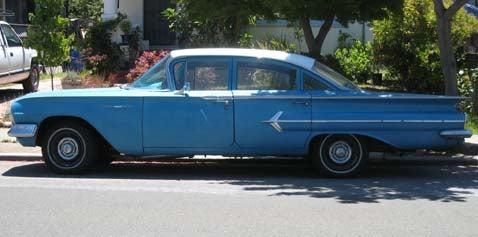 1960 Chevrolet Bel Air Sedan