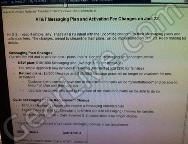 Is a New Texting Plan AT&T's First Verizon iPhone Counteroffensive?