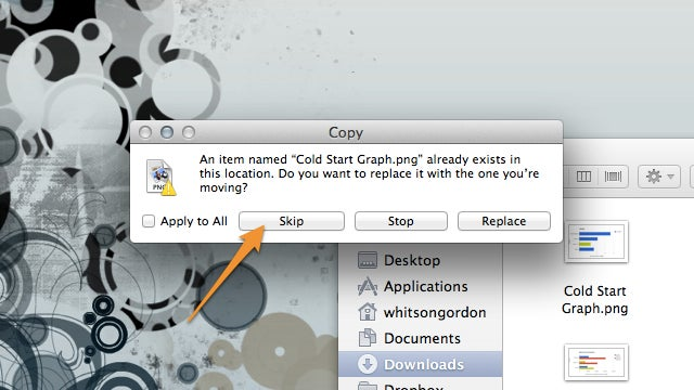 Get More Control Over Finder's Copy Dialog with the Option Key