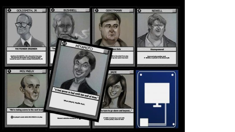A Terrific Riff On Magic: The Gathering, Starring Video Gaming's Real Heroes