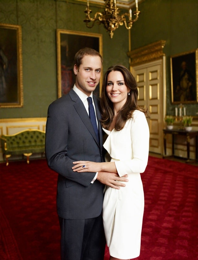 Prince William and His Princess Bride Don't Want Your Pesky Servants