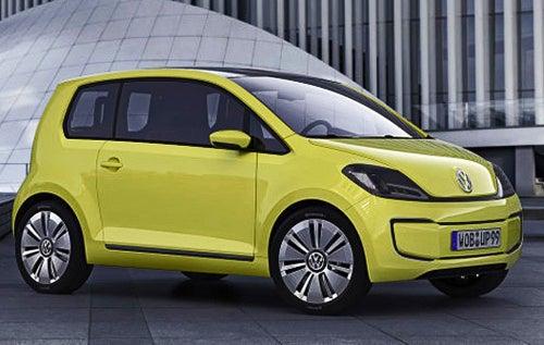 Volkswagen E-Up Concept: All-Electric German Micro-Van