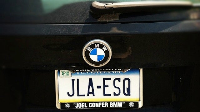 This Photo Of His Car Tells You All You Need To Know About Jerry Sandusky's Lawyer