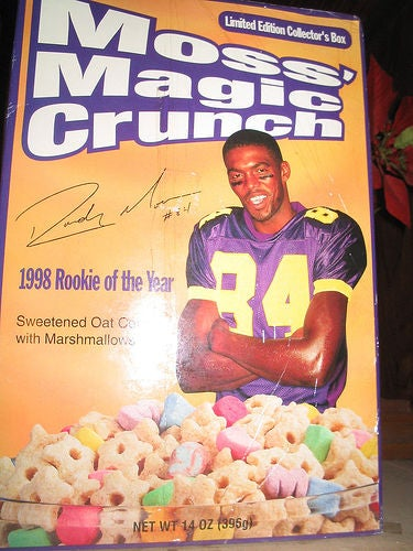 Randy Moss Was Waived Because He Was Picky About His Food