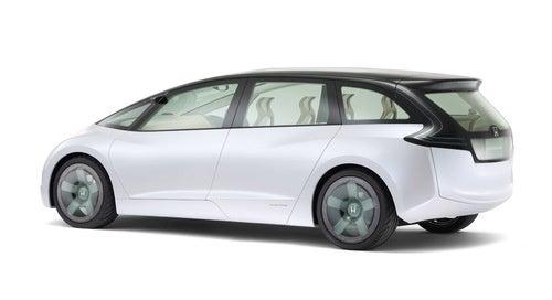 Honda Skydeck Concept: Press Photos
