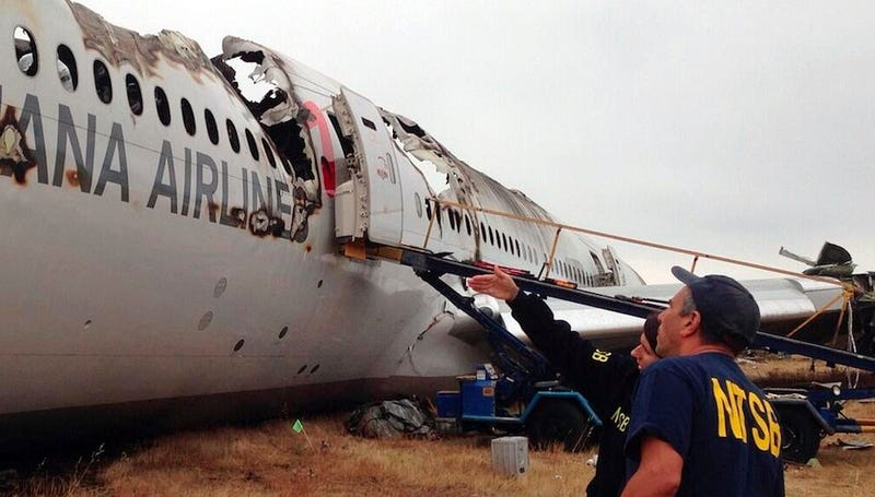 Flight Attendants Survive After Being Thrown from Plane During Crash