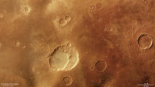 The Possible Remains of a Volcanic Collapse on Mars