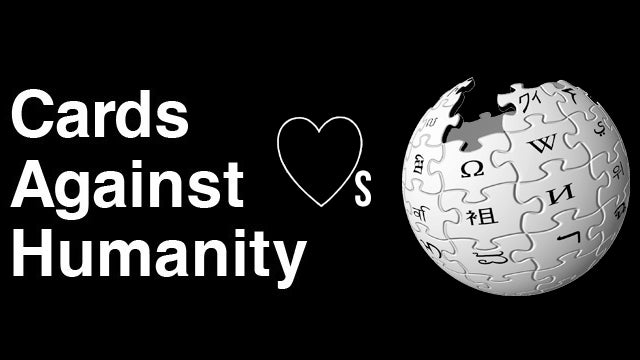 Cards Against Humanity Makers Donate $70,000 To Wikipedia