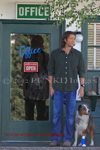 Supernatural On the Set Photos