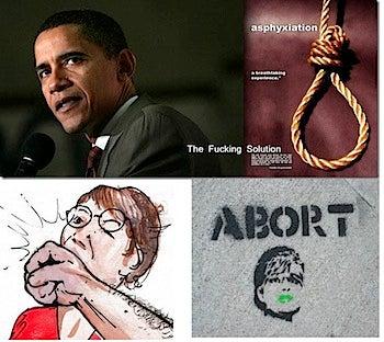 Obama Noose Poster New Low In Citizen Propaganda