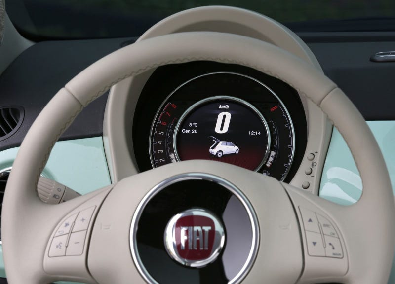 Drink The Kool-Aid Of The Fiat 500's Nifty New Digital Gauges