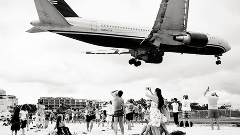 Planes Flying Over Bystanders' Head Make for Wonderful Vintage Photos