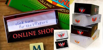 VPapers Self-Sticking Rolling Papers Take the Lick Out Of Smoking