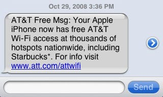 AT&T Offers Free Wi-Fi to iPhone Owners (For Real This Time)