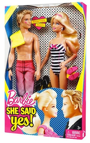 "Mattel Spoils Ken & Barbie Reunion ""Surprise"""