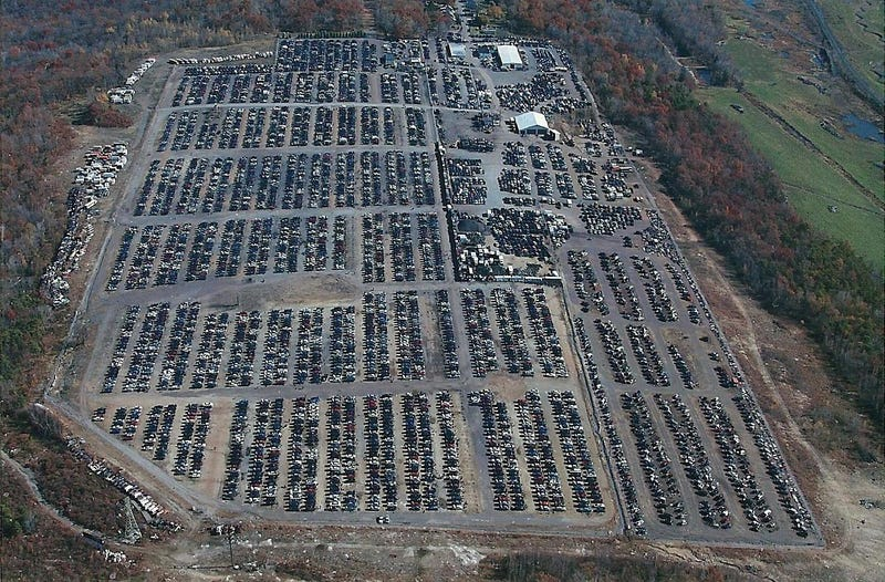 The Ten Most Impressive Transportation Graveyards