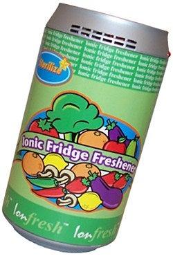 Ionic Fridge Freshener Tries to Suck Up Stench