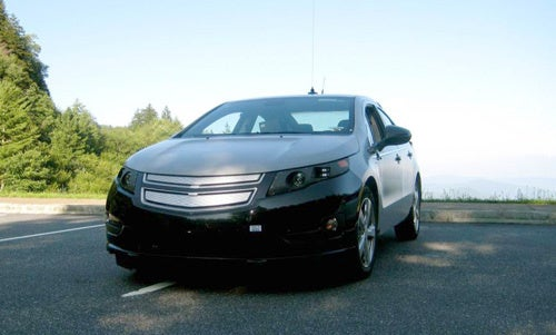 Chevy Volt Visits Tennessee, Squeals Like Pig