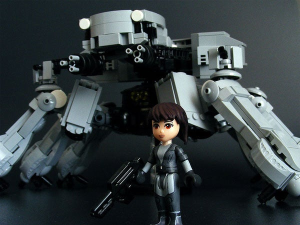 Ghost in the Shell's Think Tanks Are Intimidating, Even in LEGO Form