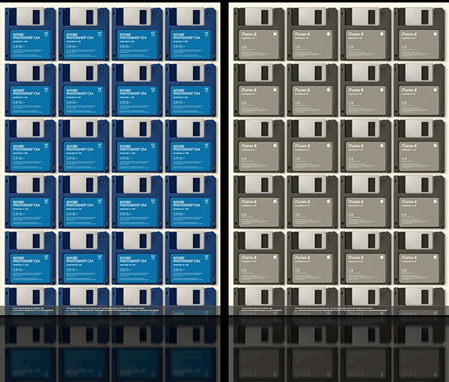 How Many Floppy Disks Do I Need to Load Photoshop, Again?