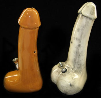 Put It In Your Mouth: Genital-Shaped Bongs